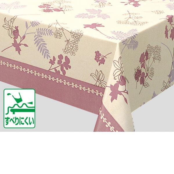 入荷次第 明和グラビア テーブルクロスロール ピンク 130cm幅×15m巻 FRC-104 141834