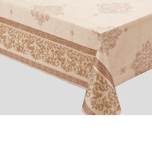 入荷次第 明和グラビア テーブルクロス ロール物 高風合いクロス ブラウン 130cm幅×15m巻 FRD-102 204041