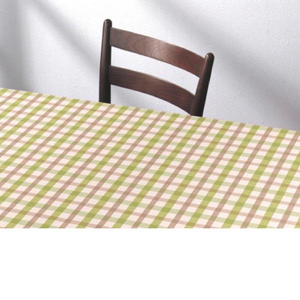 入荷次第 明和グラビア テーブルクロス ロール物 ズレないテーブルシート グリーン 90cm幅×20m巻 KTC-101 191570