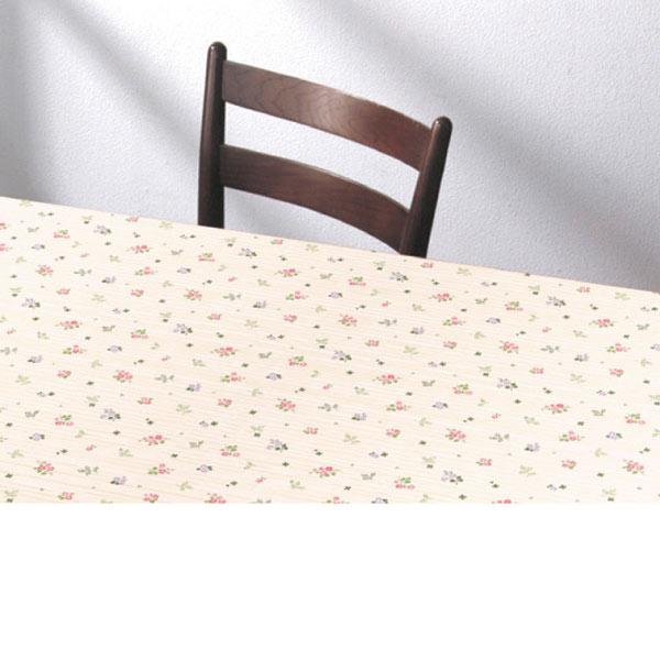 入荷次第 明和グラビア テーブルクロス ロール物 ズレないテーブルシート ピンク 90cm幅×20m巻 KTC-102 191587