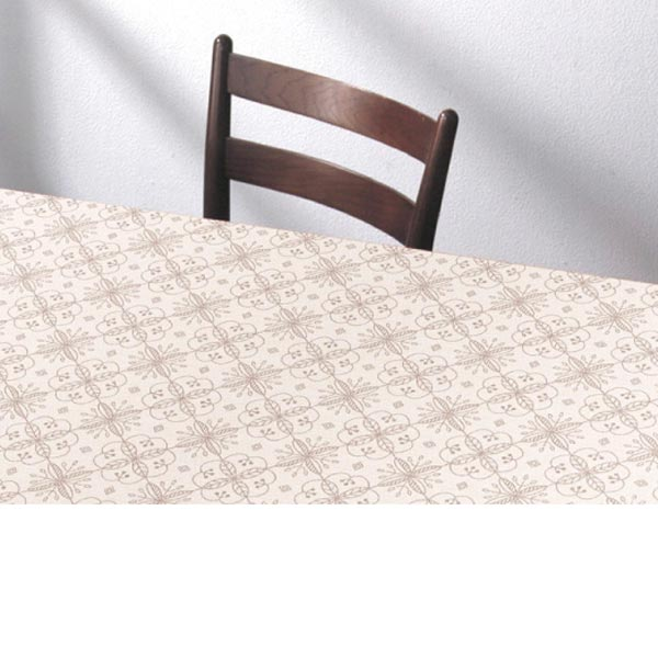 明和グラビア テーブルクロス ロール物 ズレないテーブルシート ライトブラウン 90cm幅×20m巻 KTC-103 191594