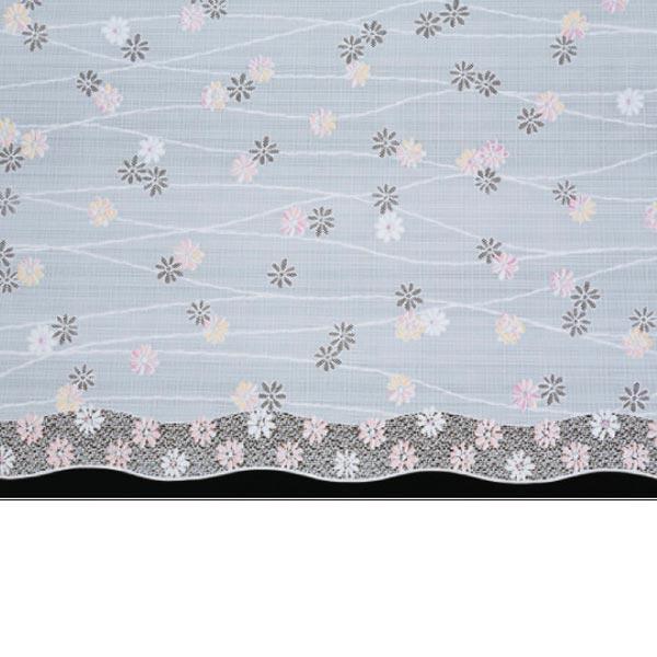 明和グラビア テーブルセンター ロングレース ピンク 50cm幅×20m巻 M-591 155763