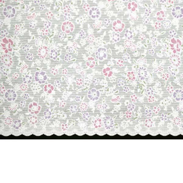 明和グラビア テーブルセンター ロングレース ピンク 50cm幅×20m巻 M-593 171107