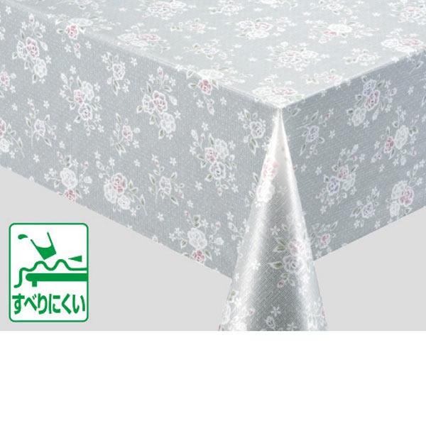入荷次第 明和グラビア テーブルクロス ロール物 ポリエステルメッシュクロス ピンク 130cm幅×20m巻 M-6005 170100