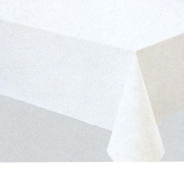 明和グラビア テーブルクロス ロール物 MGフィルム ホワイト ナシジ 0.15mm厚 120cm幅×50m巻 MG-610 016019