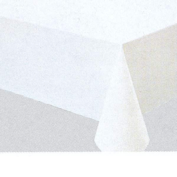 入荷次第 明和グラビア テーブルクロス ロール物 MGフィルム ホワイト ナシジ 0.15mm厚 135cm幅×50m巻 MG-620 015111