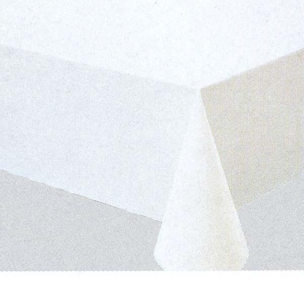 入荷次第 明和グラビア テーブルクロス ロール物 MGフィルム ホワイト ナシジ 0.2mm厚 180cm幅×50m巻 MG-630 015210
