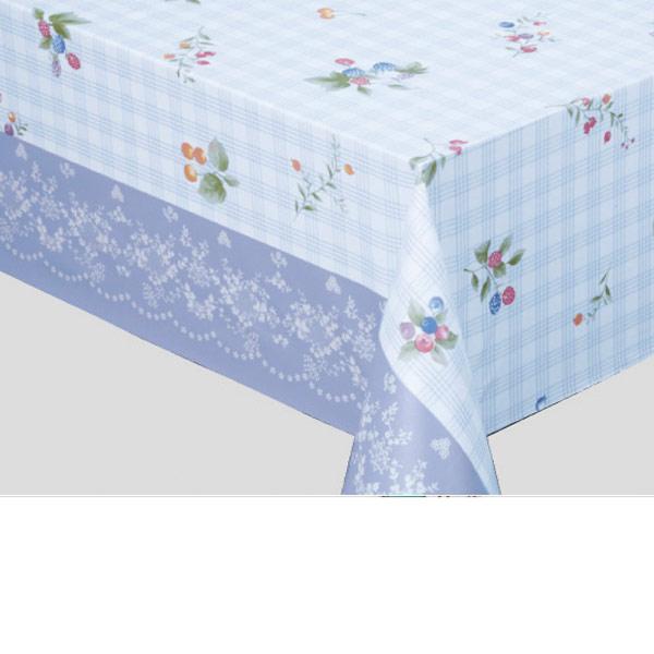 明和グラビア テーブルクロス ロール物 MGフィルム ブルー 120cm幅×30m巻 MG-6601 156722