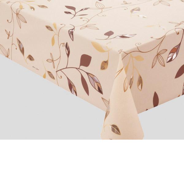 入荷次第 明和グラビア テーブルクロス ロール物 プリーレンスクロス ブラウン 135cm幅×20m巻 MGPL-122 181038