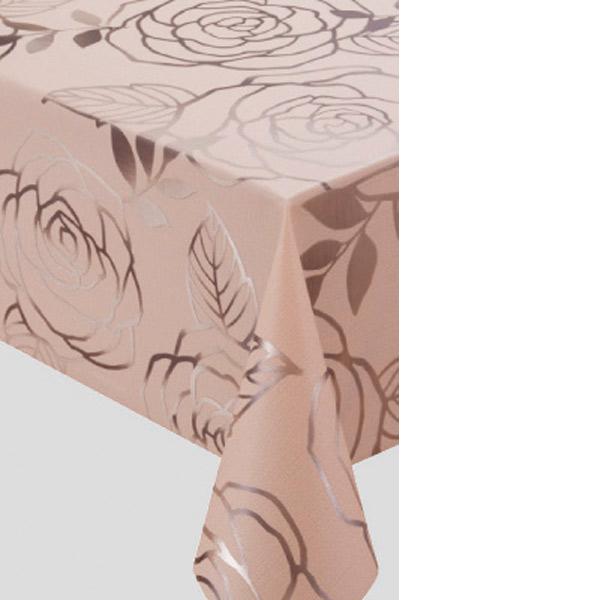入荷次第 明和グラビア テーブルクロス ロール物 プリーレンスクロス ブラウン 135cm幅×20m巻 MGPL-124 184282