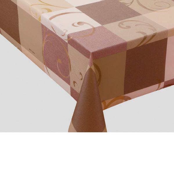 入荷次第 明和グラビア テーブルクロス ロール物 プリーレンスクロス ブラウン 135cm幅×20m巻 MGPL-127 200180