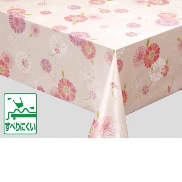 明和グラビア テーブルクロス ロール物 MGプラス裏貼り ピンク 130cm幅×20m巻 MGPS-120 176560
