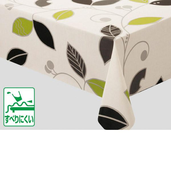 明和グラビア テーブルクロス ロール物 ニューファブリッククロス 柄 グリーン 120cm幅×20m巻 NFC-102 175877