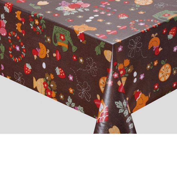 入荷次第 明和グラビア テーブルクロスロール スラブメッシュクロス ダークブラウン 130cm幅×15m巻 SMC-103 185586