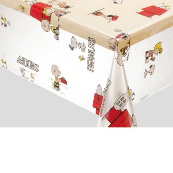 入荷次第 明和グラビア ロール物 キャラクター テーブルクロス スヌーピー・フレンズ レッド 120cm幅×20m巻 212251