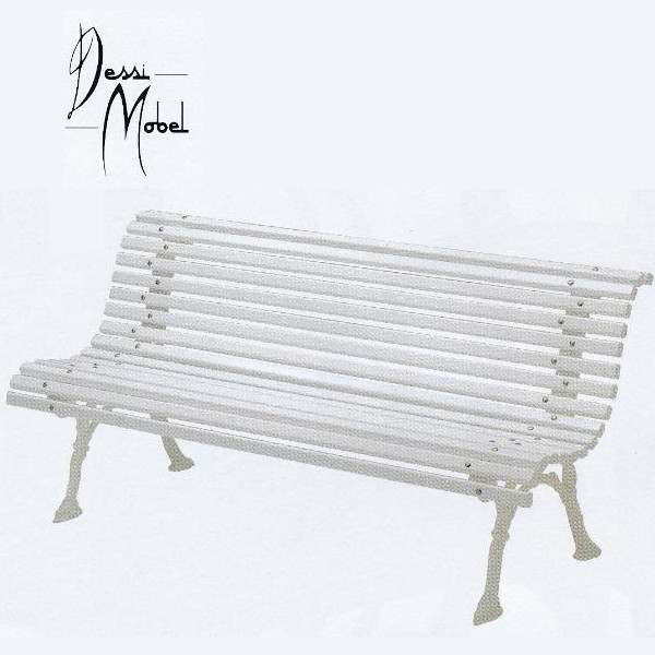 ニチエス Dessi Mobel デシベンチ ホワイト W1700×D700×SH400・H790mm
