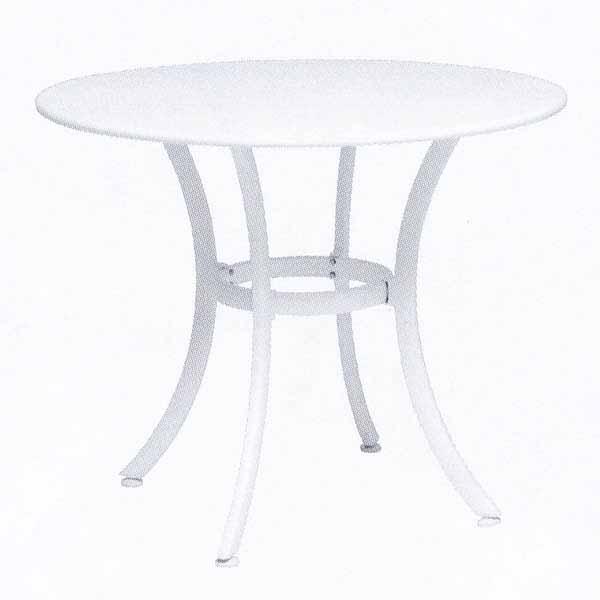 TAPAS ガーデンテーブルφ90/ホワイト/トープ/ライム φ900×H730mm