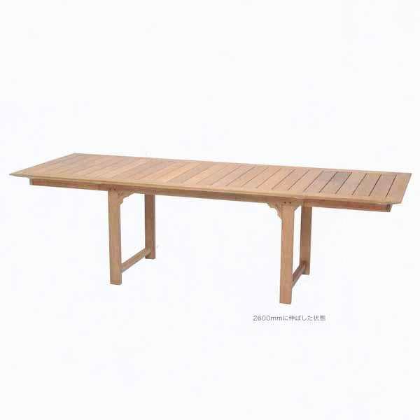 JATI ジャティ・テーブル 950×2600 W2600/1600×D1600×H770mm