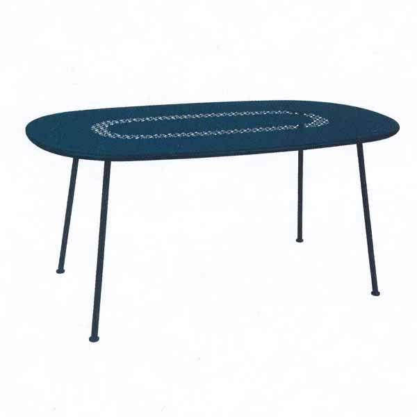 FERMOB ロレットテーブル160×90/21アカプルコブルー W1600×D900×H740mm