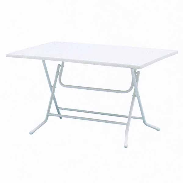 SIESTA ガーデンテーブル NWT-12×8K2 W1200×D800×H700mm