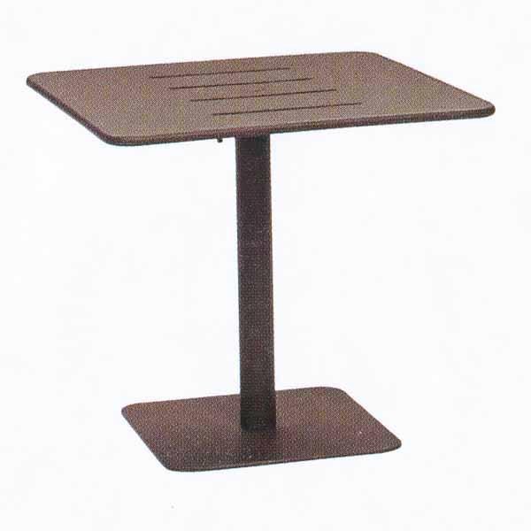 MAIORI ベガビストロテーブル800/トープ W800×D800×H740mm