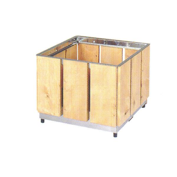 BENCH ウッドプランターボックス WD-5 W560×D560×H450mm