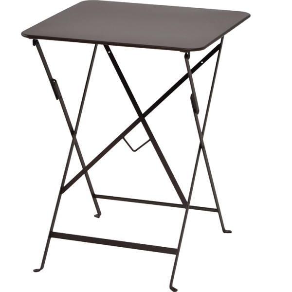 FERMOB ビストロテーブル 57×57/09ラスト W570×D570×H730mm