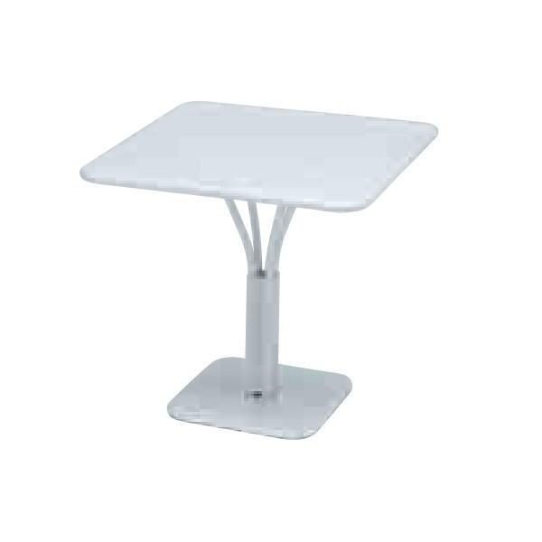FERMOB ルクセンブールテーブル 80×80/01ホワイト W800×D800×H740mm