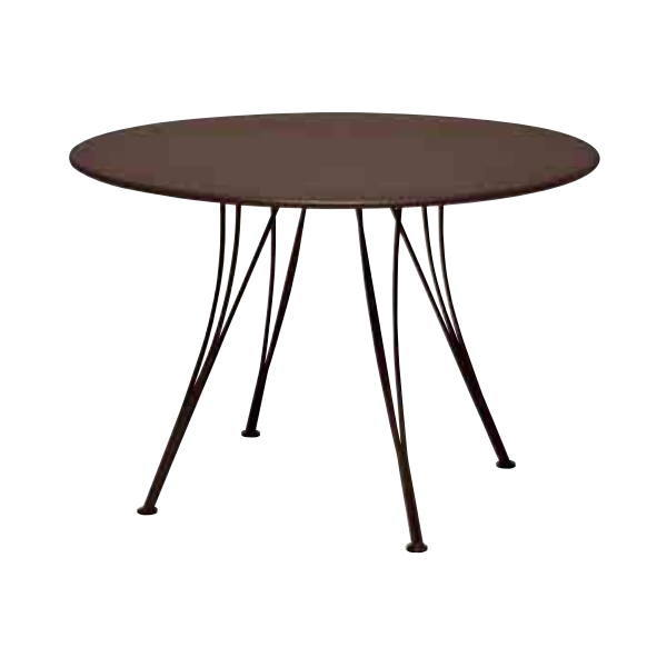 FERMOB ランデブテーブル110/09ラスト φ1,100×H740mm