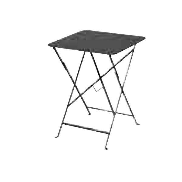 FERMOB ビストロテーブル 57×57/47アンスラサイト W570×D570×H730mm