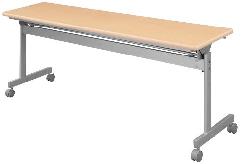 ハイテクウッド 跳上式スタックテーブル KSI-860-NN 幅1800×奥600×高700mm