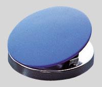 事務用品 クラウン 商い カラーマグネットクリップ 青 CR-MG512-BL 2個入 市場 1つ
