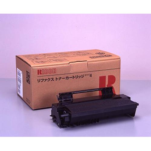 リコー リコーFAX用トナーカートリッジタイプ4 RI-TNRFX4J 1本