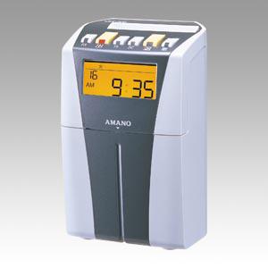 アマノ 電子タイムレコーダー ( シルバー ) CRX-200(S) 1台