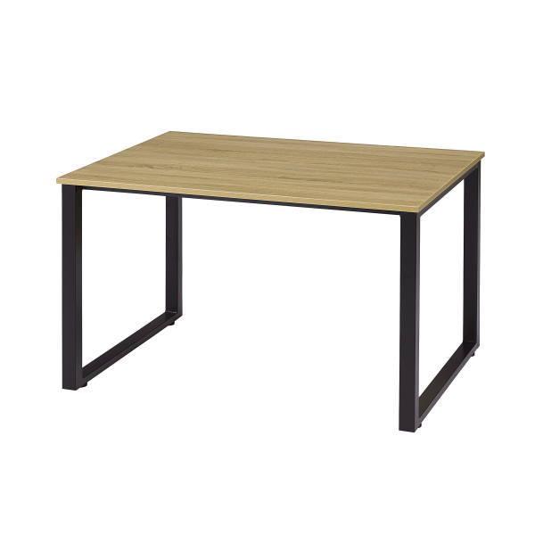 ミーティングテーブル 会議テーブル 古木調天板 1290 W1200×D900×H700mm IRG-N1290