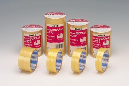 積水化学工業 クリアフィット18×50m10巻 P272X44 18X50 10コ 20パック