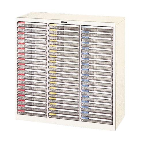 オフィス機器 卓出 ナカバヤシ フロアケース B4 1台 3列 予約販売品 -54P