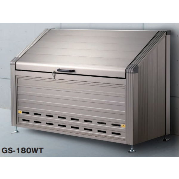 本宏製作所 ゴミステーション 間口1,800×奥行680×高さ1,130mm 約960L GS-180WT