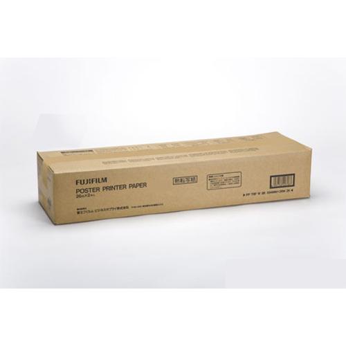富士フイルムイメージング 熱転写紙 白地黒 B1幅 PP TRP W BK728MMX26M 1箱