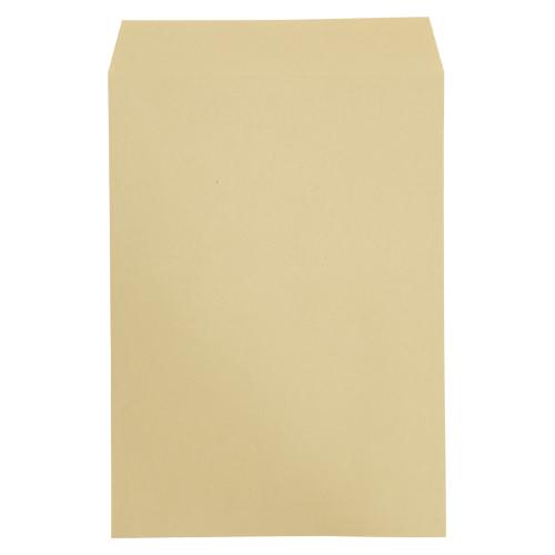 寿堂 ワンタッチクラフト封筒(サイド貼り) 500枚入業務用(テープ付) 03425 500枚