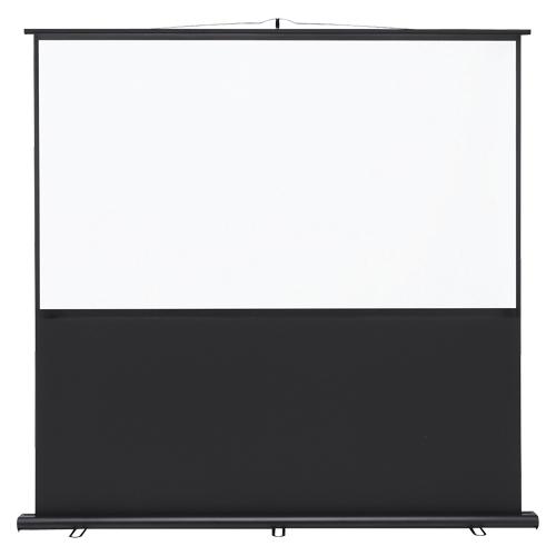サンワサプライ プロジェクタースクリーン床置式▲送料別途 PRS-Y80HD 1台
