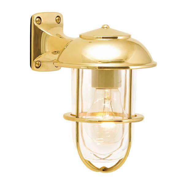 真鍮製ポーチライト BR5000 CL(磨き仕上/クリアーガラス/白熱電球仕様) GI1-700347