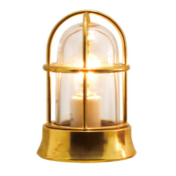 真鍮製ガーデンライト 真鍮製ガーデンライト BH1000 MINI CL LE(磨き仕上/クリアーガラス/LED仕様) GI1-700522