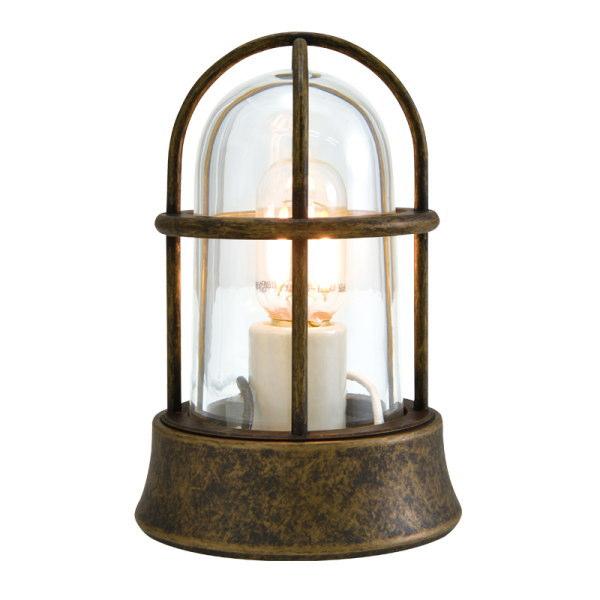 真鍮製ガーデンライト 真鍮製ガーデンライトBH1000 MINI AN CL LE(古色仕上/クリアーガラス/LED仕様)GI1-700526