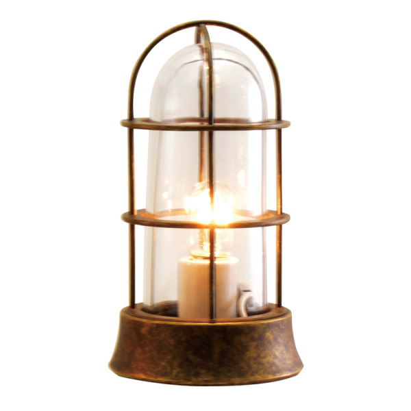 真鍮製ガーデンライト 真鍮製ガーデンライト BH1000 SLIM AN CL LE(古色仕上/クリアーガラス/LED仕様) GI1-700546