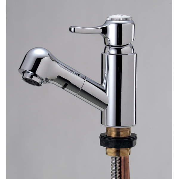 シングルレバー混合栓 クローム IB4-E414010