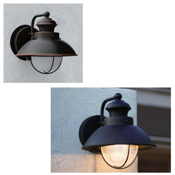 オンリーワンクラブ 照明器具 ポーチライト ウォールマウントライト ベーシック バーニッシュブロンズ色 MA1-V1581ZLW
