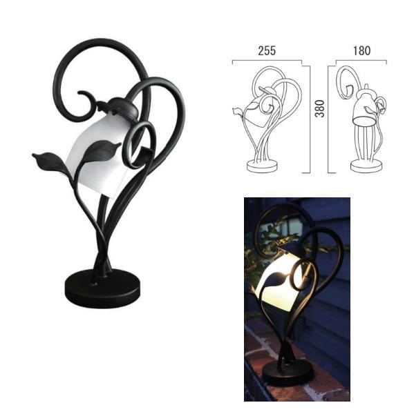 オンリーワンクラブ 照明器具 スタンドライト ラフィーユ ロートアイアン上置照明 SR1-LF01