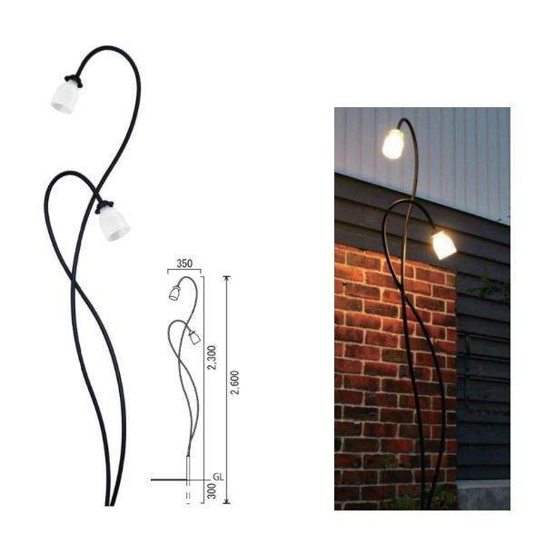 オンリーワンクラブ 照明器具 スタンドライト ラフィーユ ロートアイアン燈 SR1-LF02