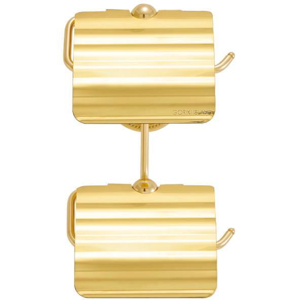 アンティーク調 サニタリーアイテム TPH PB トイレットペーパーホルダー W2 真鍮ゴールド W140×D165×H72・240mm GI4-640788